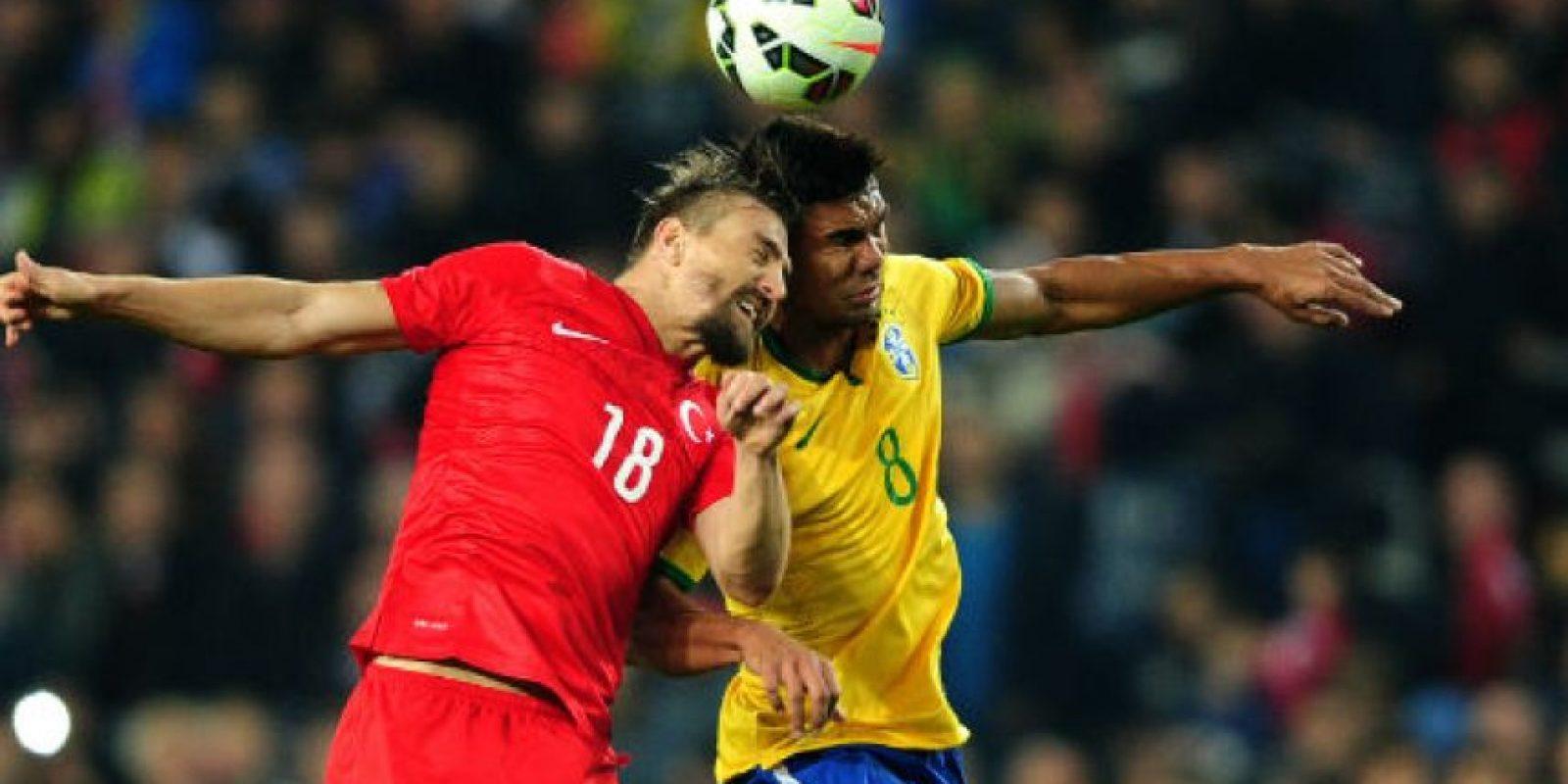 A pesar de que Brasil era el amplio favorito, los turcos dieron pelea. Foto:AFP