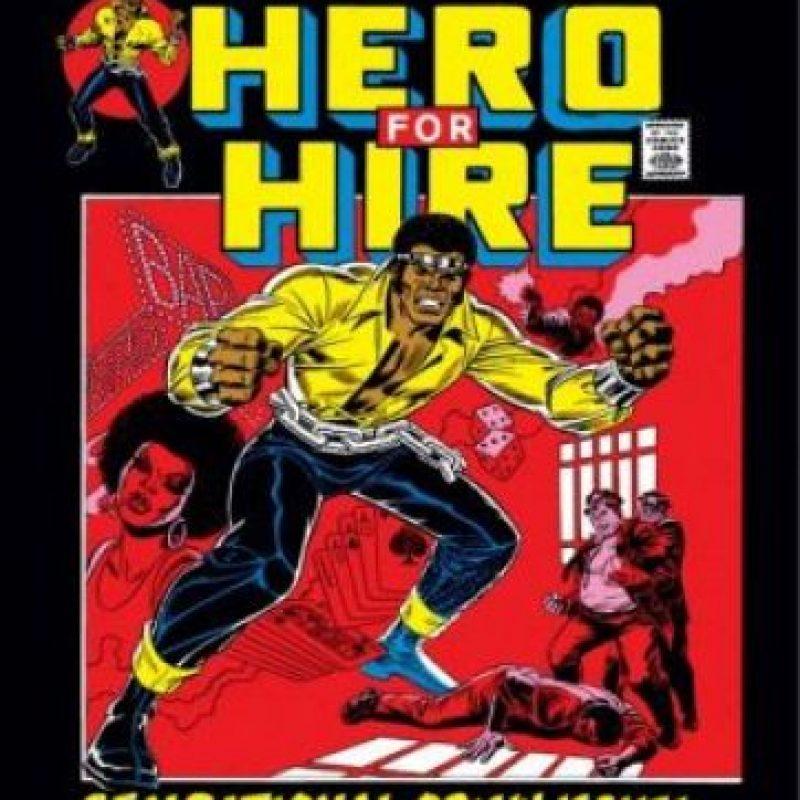 En 1972 apareció primer superhéroe afroestadounidense en protagonizar una serie de historietas que llevaba su nombre en el título.1 Foto:Marvel Comics