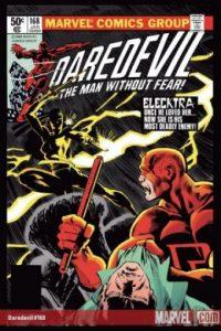 Fue un personaje creado por Frank Miller en 1982 y en un principio era una asesina a sueldo Foto:Marvel Comics