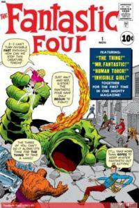 Los Cuatro Fantásticos llegaron como historieta en noviembre de 1961. Son de los personajes de Marvel que más veces han sido adaptados a otros formatos como dibujos animados, películas y otros. Foto:Marvel Comics