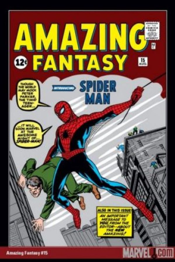 Su primera aparición fue en el número 15 de Amazing Fantasy en agosto de 1962 Foto:Marvel Comics