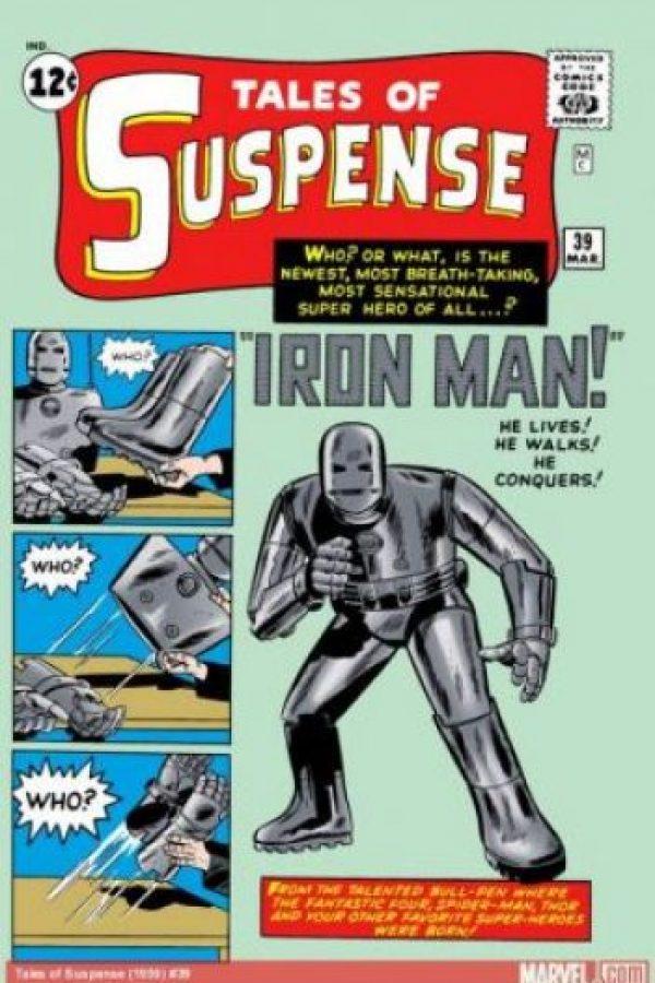 Hizo su primera aparición en Tales of Suspense #39 en marzo de 1963. Foto:Marvel Comics