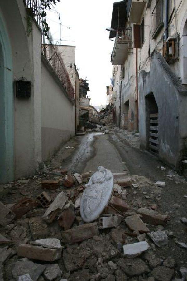 El terremoto cobró al vida de 309 personas. Foto:Getty