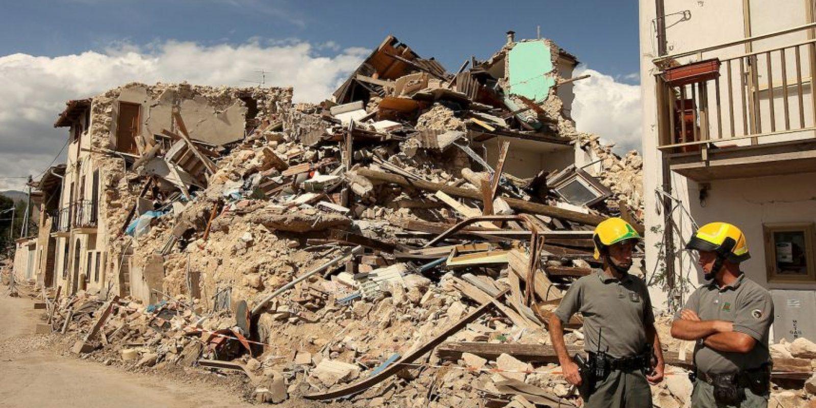 Réplicas de hasta cinco grados se sintieron en los días posteriores al sismo. Foto:Getty
