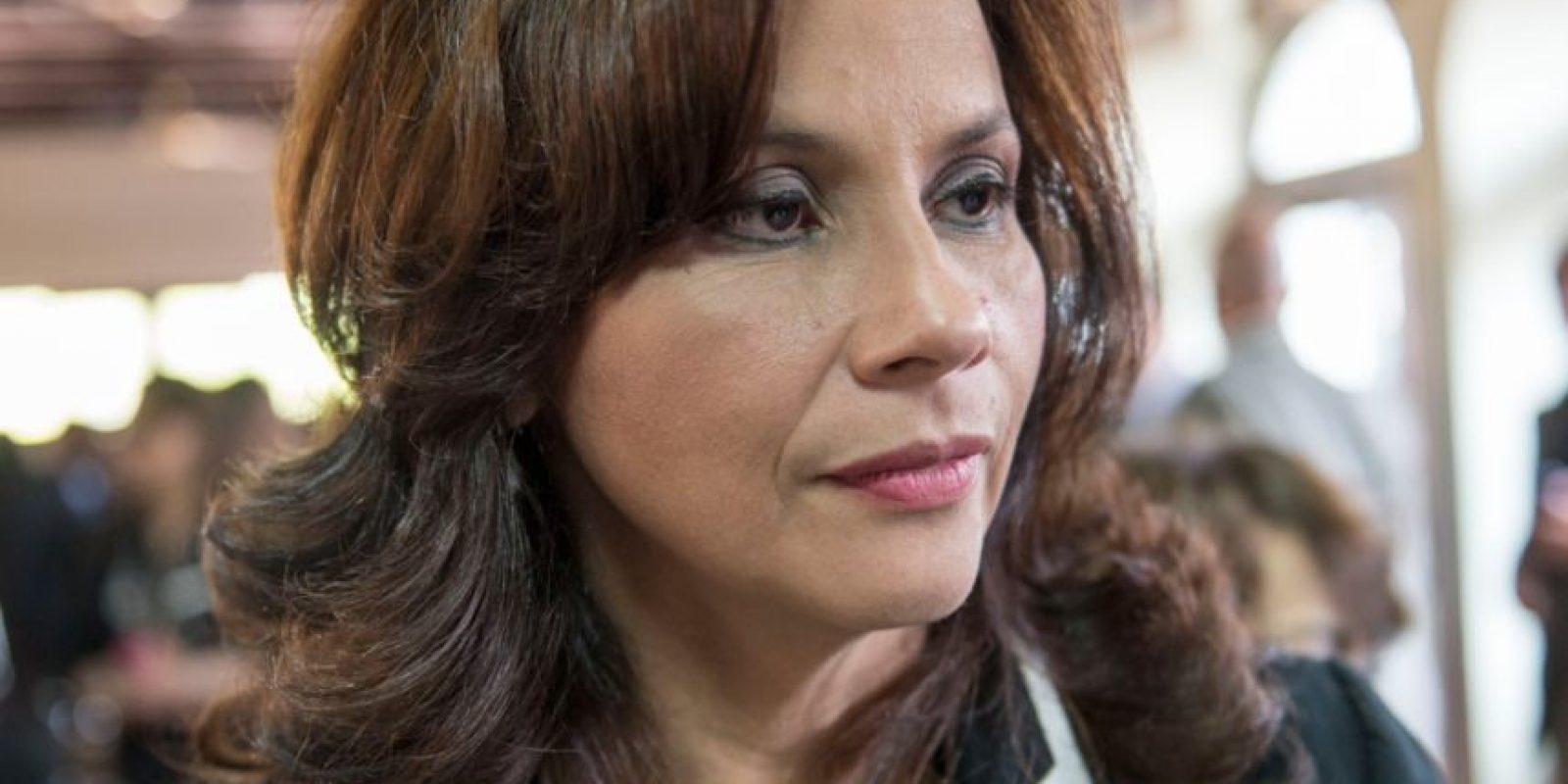 """Elvia Ester Velásquez, magistrada electa: """"Quedó claro que los argumentos fueron para revisar el proceso lo que se entiende que nuestra elección fue en ley y debemos tomar poseción de los cargos designados por el Congreso""""."""
