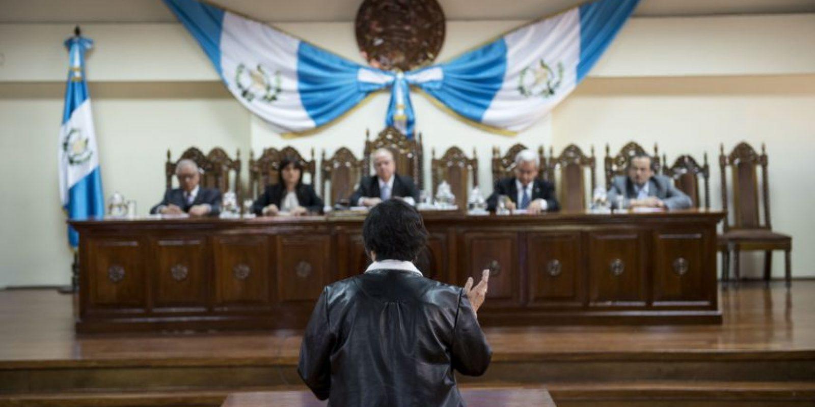 La audiencia inició a las 9:40 horas con los argumentos legales de la activista Hellen Mack. Foto:Oliver de Ros
