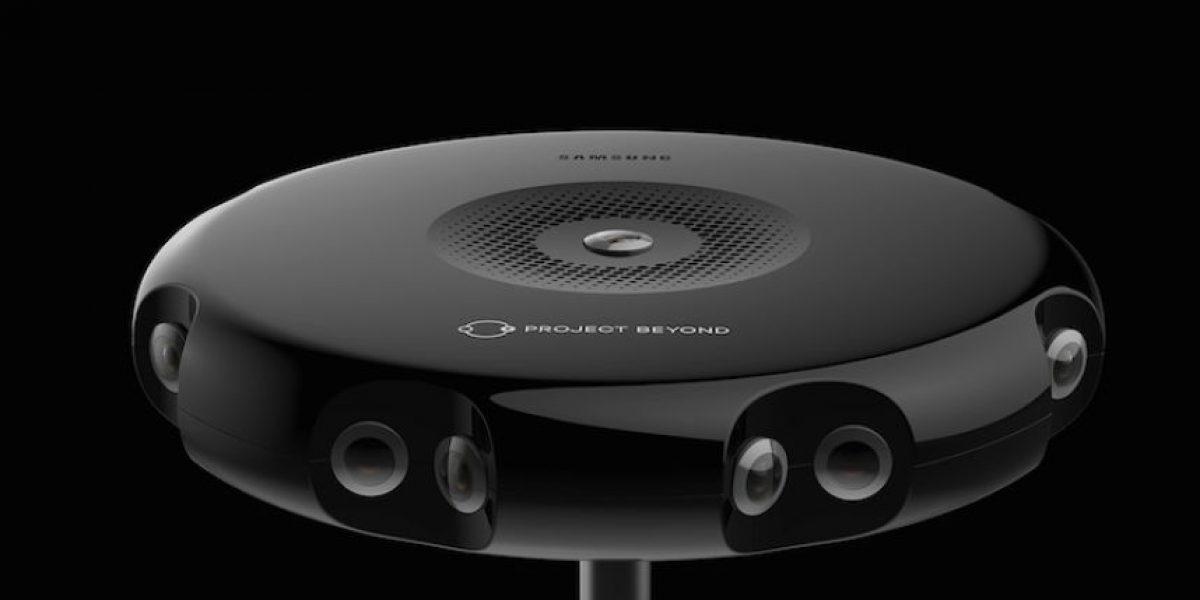 Project Beyond, la primera cámara 3D de 360º para realidad virtual