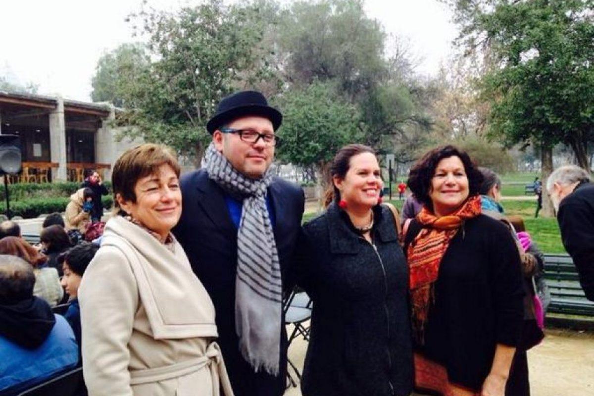 Sebastián Dávalos, hijo de la presidenta de Chile, Michelle Bachelet Foto:Twitter