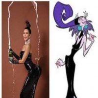 """Kardashian al estilo de Yzma del filme """"Las locuras del emperador"""" Foto:Twitter"""