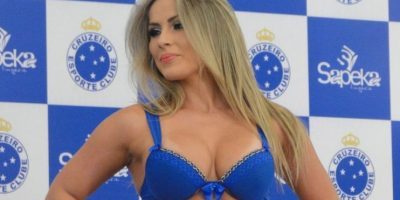 Las modelos llamaron mucho la atención con la sexy ropa Foto:cruzeiro.com