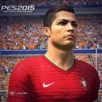 Cristiano Ronaldo en el PES 2015 Foto:Konami