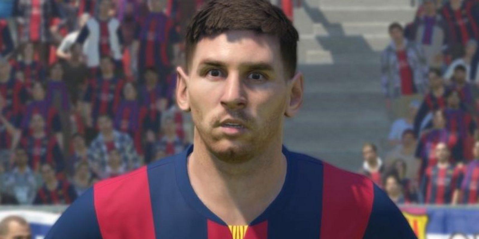 Lionel Messi en el PES 2015 Foto:Konami