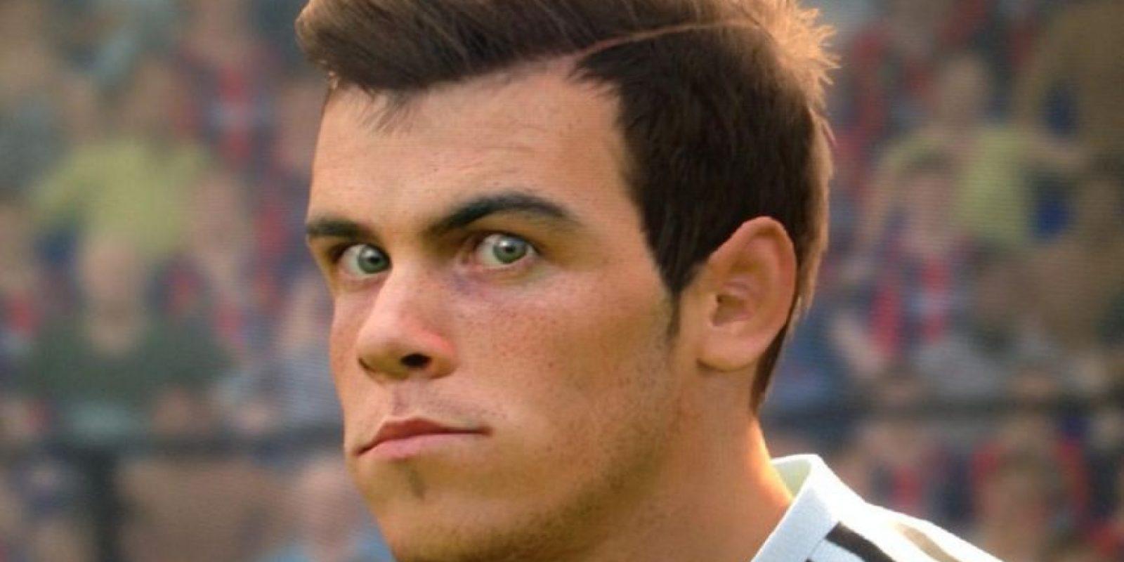 Gareth Bale en el PES 2015 Foto:Konami