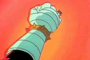 """En la serie """"Inspector Gadget"""", el villano sólo muestra sus brazos"""