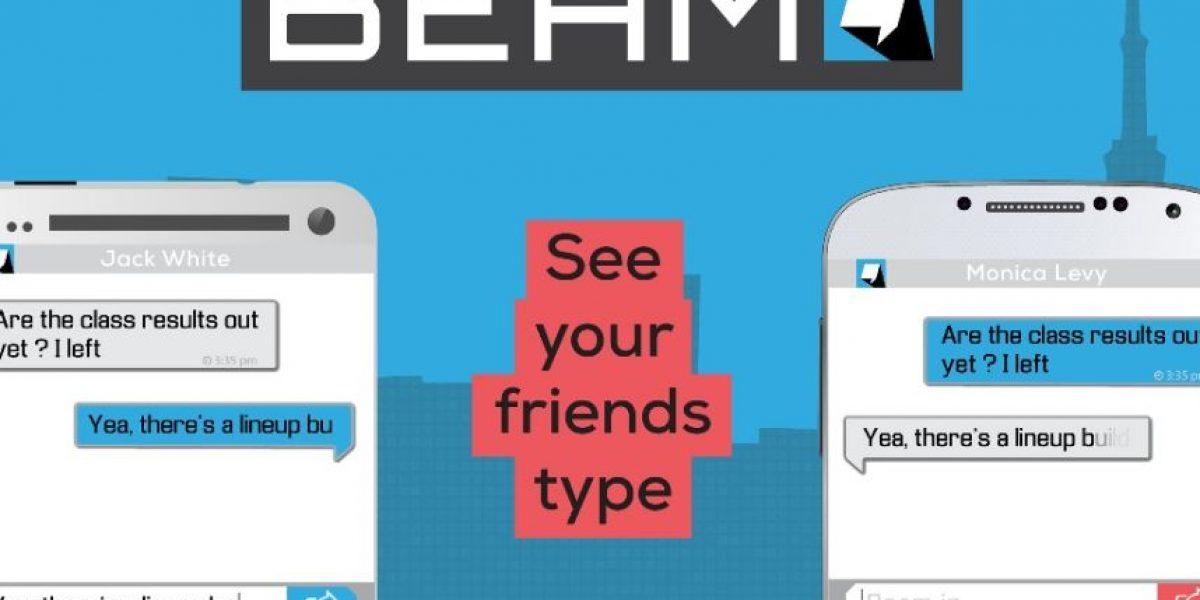 La app que permite ver lo que les están escribiendo en tiempo real