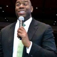 Magic Johnson Foto: Vía Wikipedia