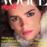 Gia, la modelo que fue caracterizada por Angelina Jolie Foto:Vía Vogue