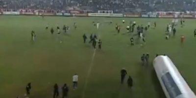 Pero al final de duelo, las cosas se salieron de control Foto:Youtube: tremolostv