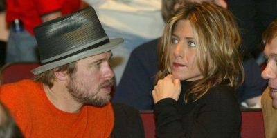 """La relación entre Aniston y Pitt terminó durante la filmación de """"Mr. & Mrs. Smith"""" Foto:Getty"""