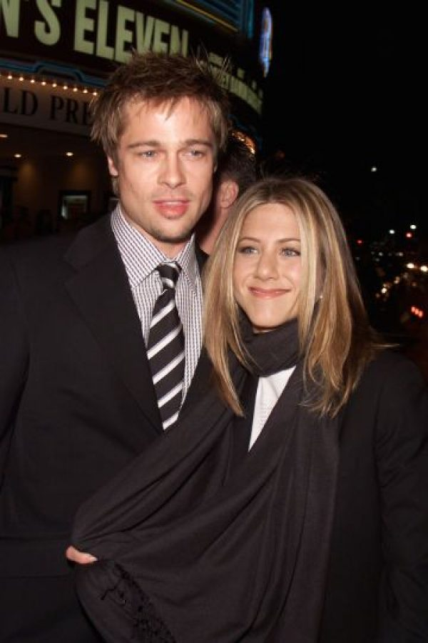 "Pitt ha declarado que Aniston era una pareja ""aburrida"" Foto: Getty"
