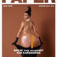 Otros hicieron el trasero de Kim uno realmente grande Foto:Vía Twitter