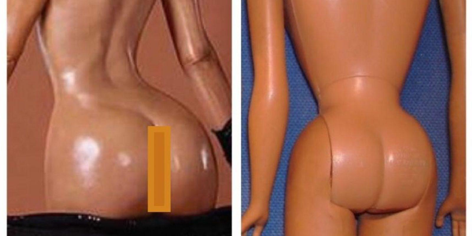 También lo compararon con Barbies Foto: Vía Twitter