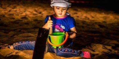 """""""Let's play in the desert"""". Arnel Castro."""