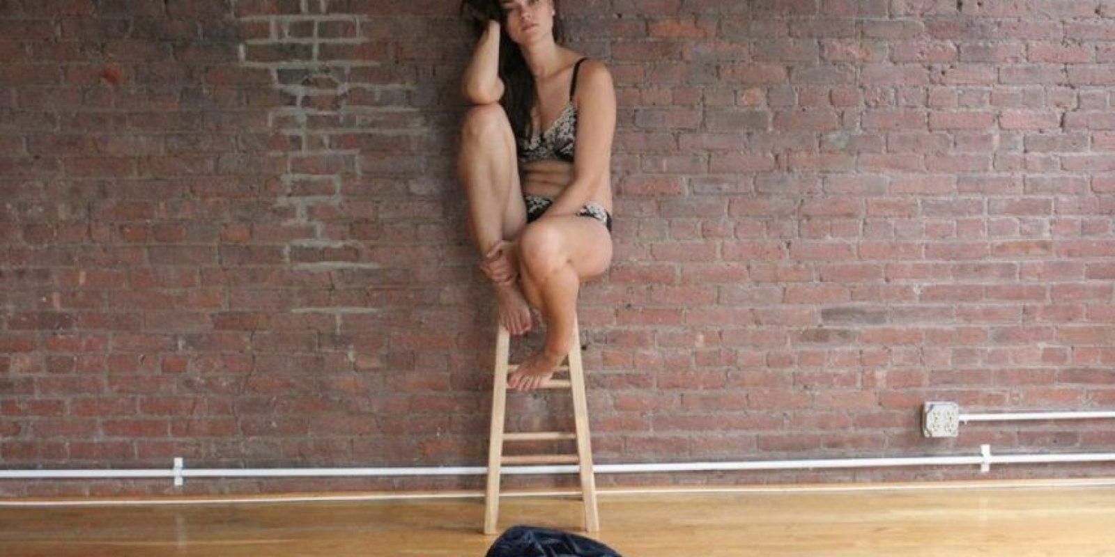 """Ha estado en secciones de la revista Vogue como Vogue Curvy"""" Foto:Jennie Runk/Facebook"""