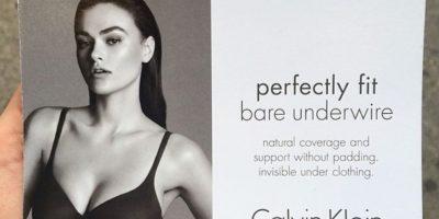 Pero que sí fue la modelo más grande para Calvin Klein Foto:Twitter