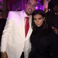 French Montana y Kim Kardashian Foto:Instagram @frenchmontana