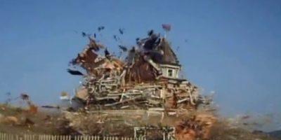 """La Familia Ingalls"": La famosas casas de Walnut Grove quedan hecha pedazos. Foto:NBC"