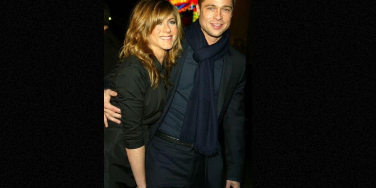 Brad Pitt terminó su relación con Jennifer Aniston para quedarse con Angelina Jolie Foto:Getty Images