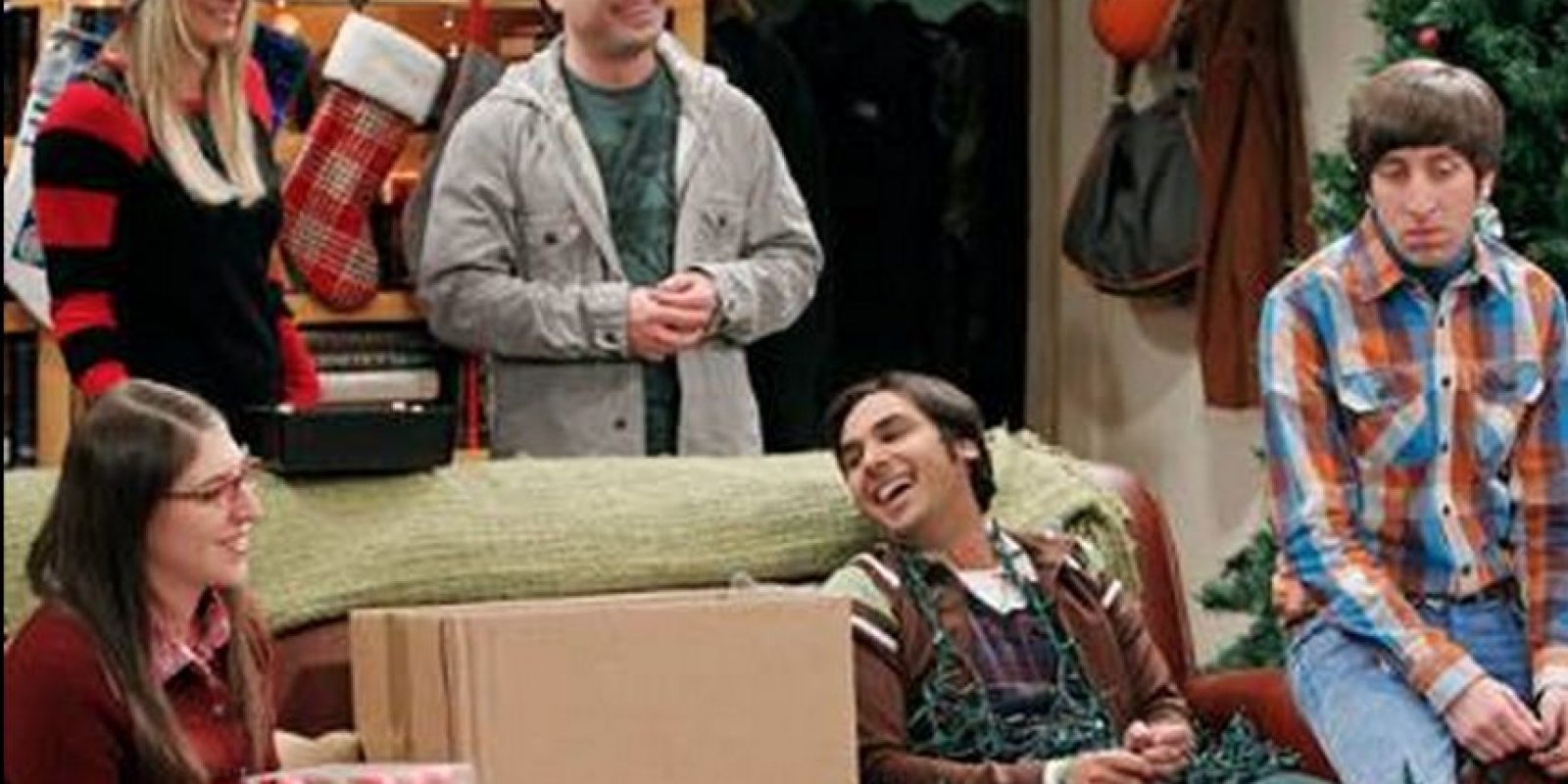 "Solo se escucha su voz Foto: Facebook ""The Big Bang Theory"""