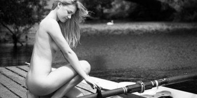 FOTOS. Universitarios compiten desnudos por una buena causa