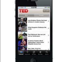 1. TED- Esta aplicación les permite ver conferencia de TED, la organización sin fines de lucro que convoca a personas influyentes en diversas áreas con el propósito de que ofrezcan charlas. El app cuenta con más de mil 700 videos, disponibles con subtítulos en más de 90 idiomas. La aplicación está disponible para Android y para IOS. Foto:Captura de pantalla blog.ted.com