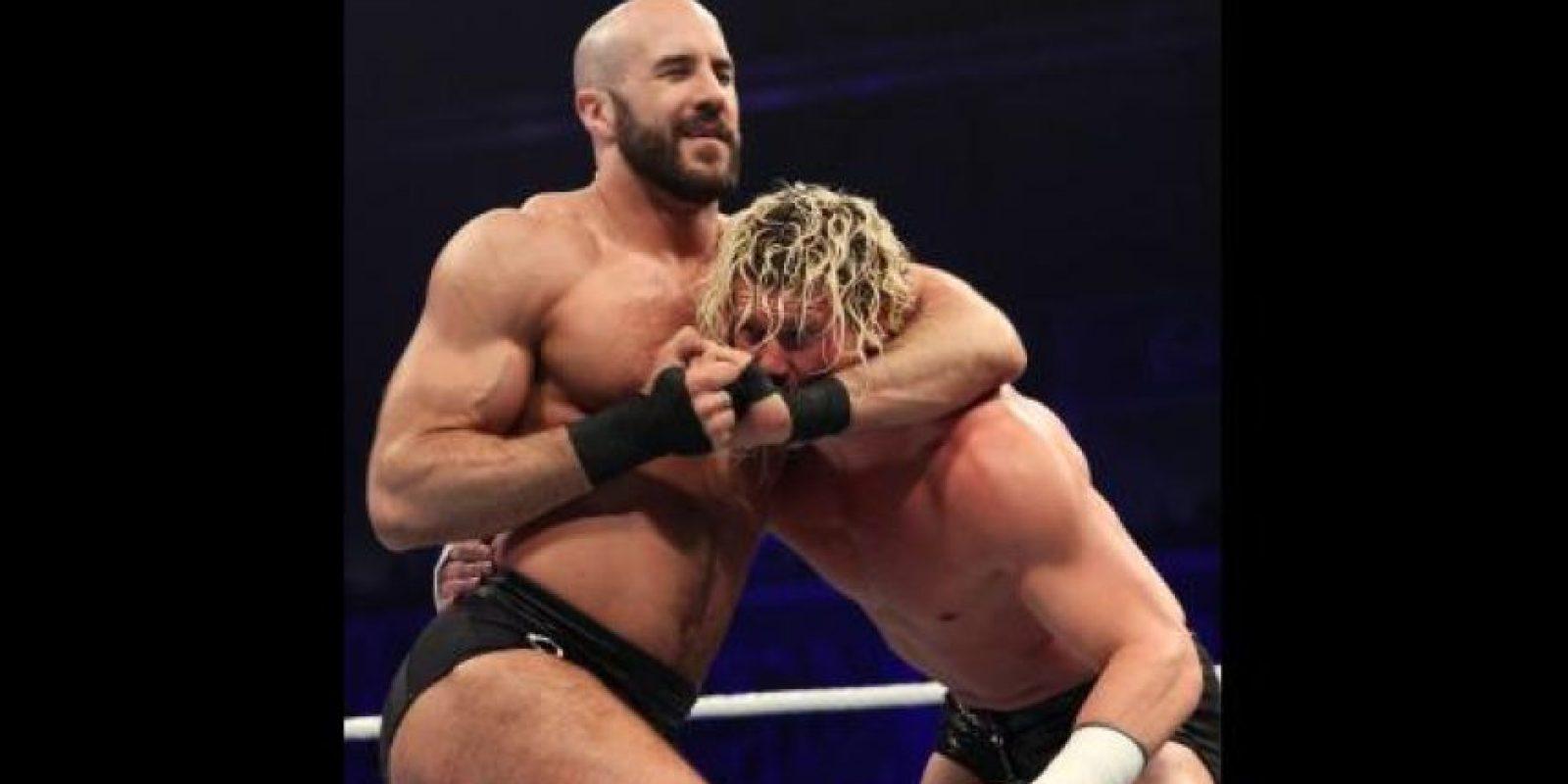 Claudio Castagnoli es el nombre de pila de Cesaro Foto:WWE