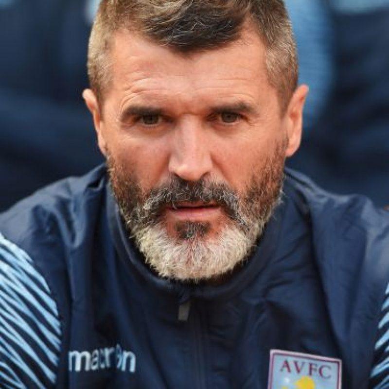 Roy Keane se peleó con un hincha que lo molestaba. Foto:Getty Images