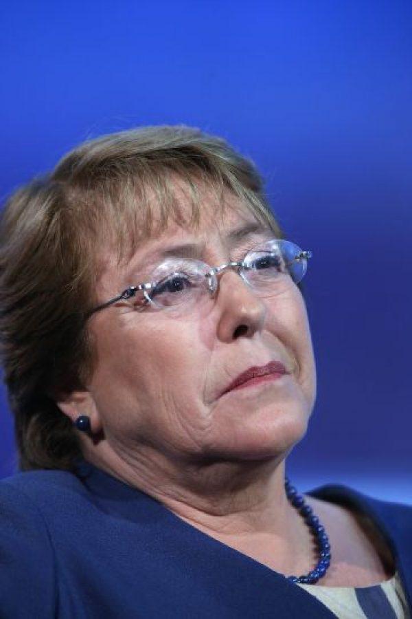 Según la revista chilena Qué pasa, la mandataria también rentó una casa en su primer mandato. Foto:Getty
