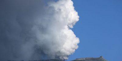 Los rescatistas encontraron su teléfono celular y vieron múltiples fotos de la erupción. Foto:Getty