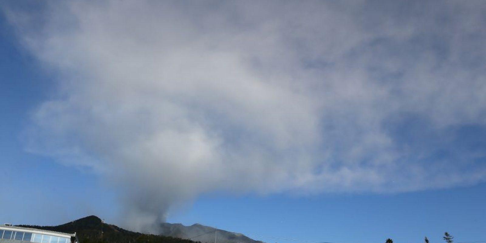 La erupción se dio en septiembre en la isla japonesa de Honshu. Foto:Getty