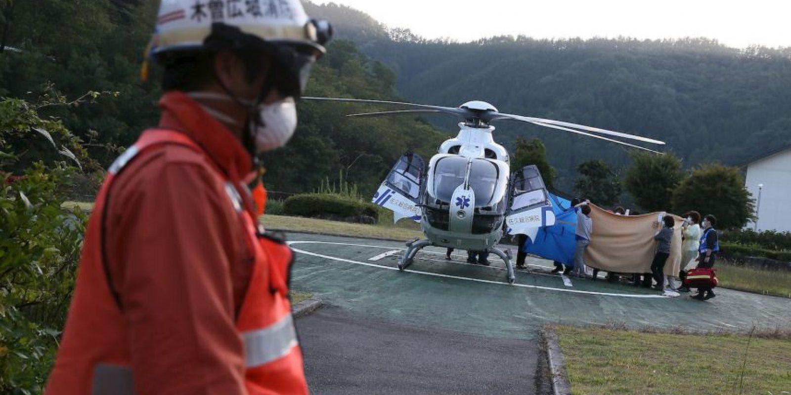 Se informó que los excursionistas pudieron haber muerto al ser golpeados por las rocas que viajaban hasta 190 millas por hora. Foto:Getty