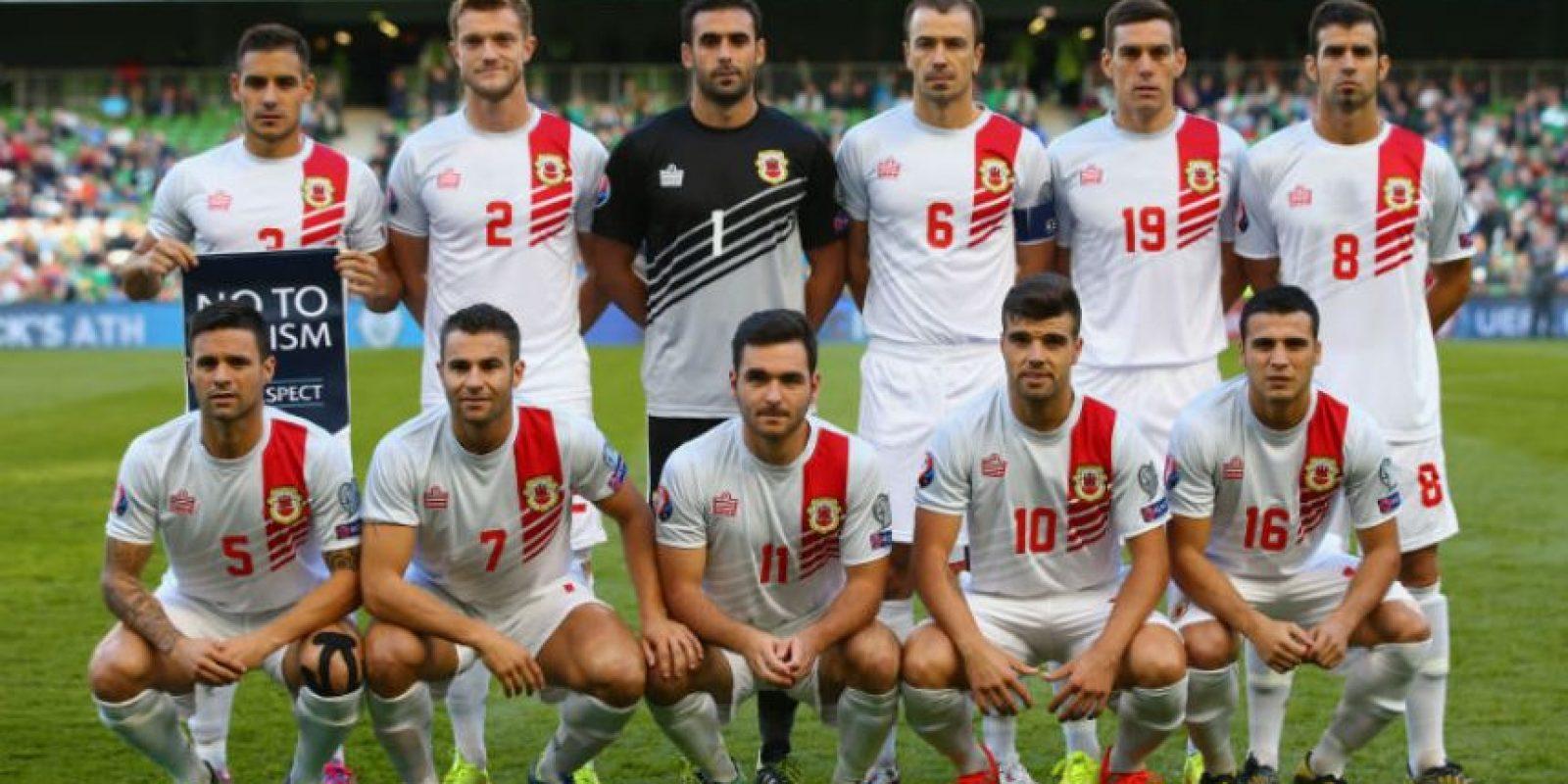 Es la primera vez que Gibraltar compite en las eliminatorias de la Eurocopa Foto:Getty