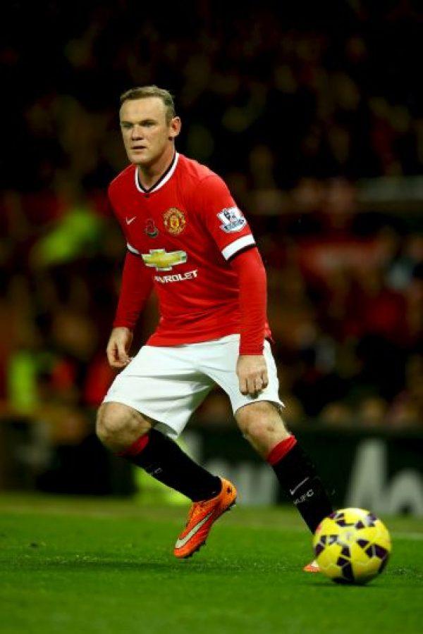Wayne Rooney, el símbolo de la Selección de Inglaterra y el Manchester United Foto:Getty