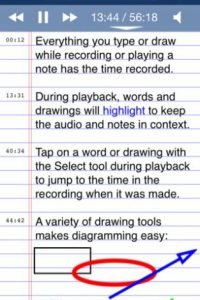 AudioNote Foto:Captura de pantalla