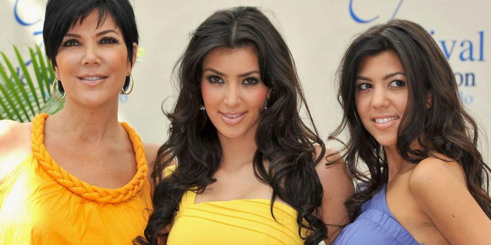 Kris pidió el divorcio en 1989. Robert Kardashian murió el 30 de septiembre de 2003 Foto:Getty Images