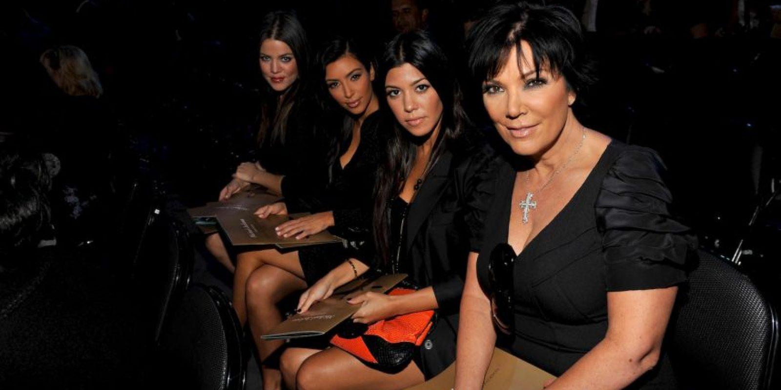 Kris Jenner, Kim, Kourtney y Khloe Kardashian Foto:Getty Images