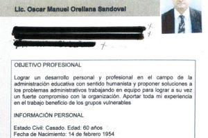 El docente obtuvo cero puntos y tiene 28 años de educar. Foto:Publinews