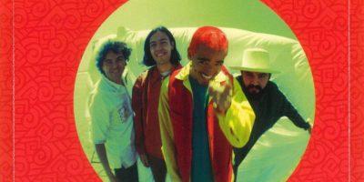 """Una de las fotos de la banda que venía en el disco """"re"""" Foto:Agencias"""