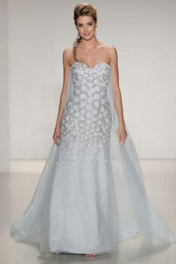 Vestido de novia inspirado en Frozen Foto:Getty Images
