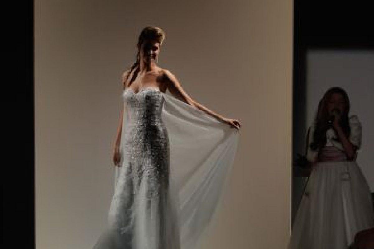 """Vestidos de novia inspirados en el atuendo de Elsa de """"Frozen"""" Foto:Getty Images"""